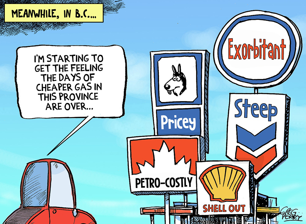 Why Gasoline Prices Are High in BC (and Jason Kenney Is Wrong)