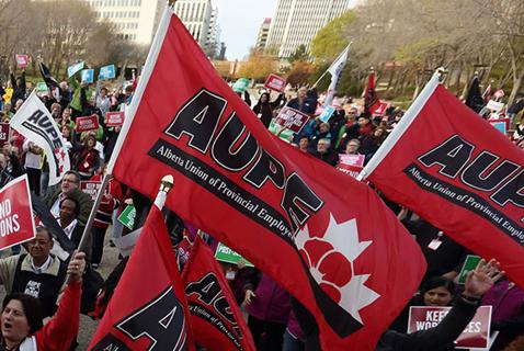 Alberta's Public Health Workers Strike Back