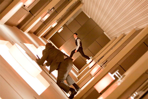Inception, movie still shot