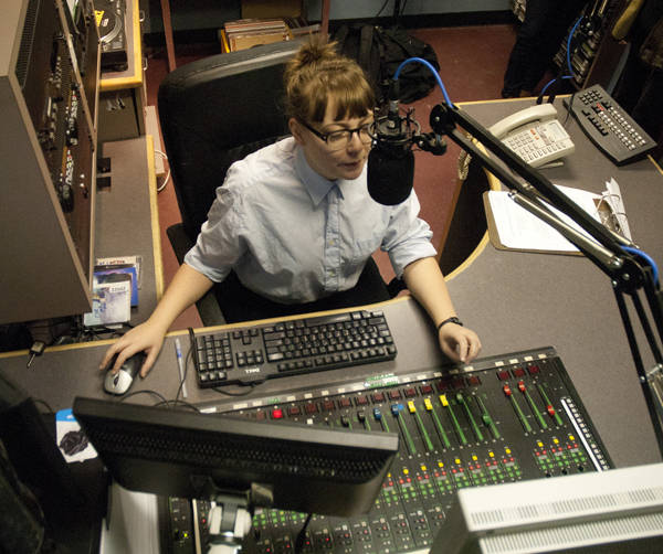 Maegan Thomas, CiTR DJ
