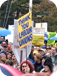 Rally in Victoria