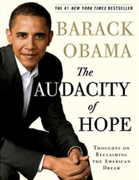 Barack Obama, book cover