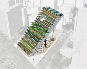 Design for a vertical farm