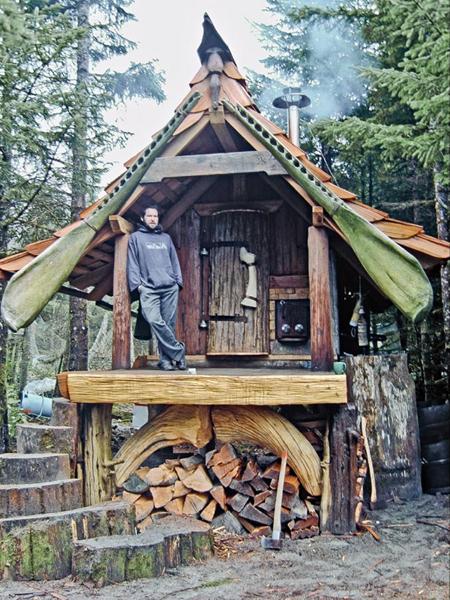 Haida Gwaii sauna