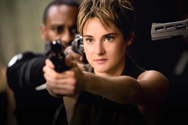 Scene from 'Divergent'
