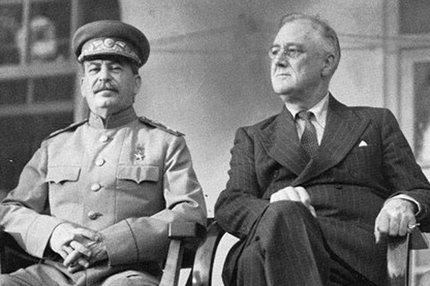 Portrait of a Partnership Roosevelt and Stalin