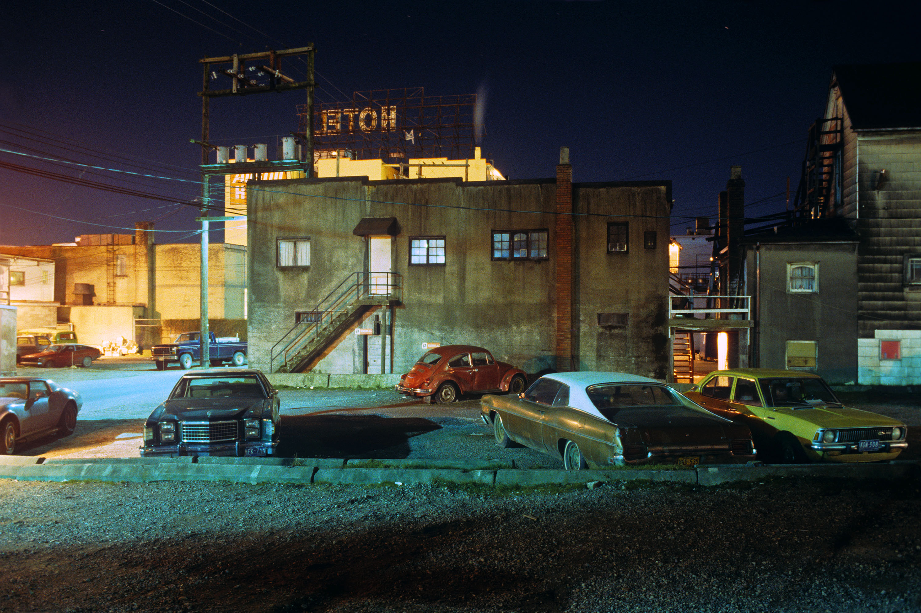 'Upaved Lot' by Greg Girard