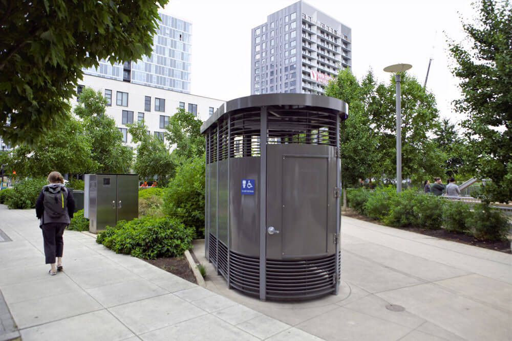 Real Cities Give Their People Places to Pee