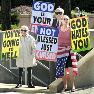 Fred Phelps Protesters