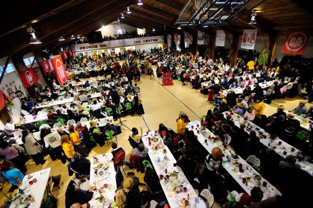 Lyell Island blockade anniversary feast