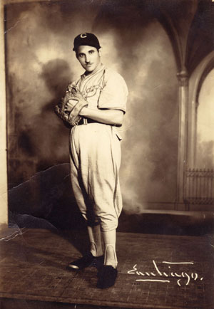 Baseball player Conrado Marrero in 1938