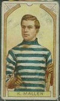 Ken Mallen hockey card
