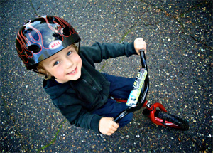 A young proponent of mandatory helmet laws. Photo by DJHuber from Your BC   The Tyee s Photo Pool. df694f59b