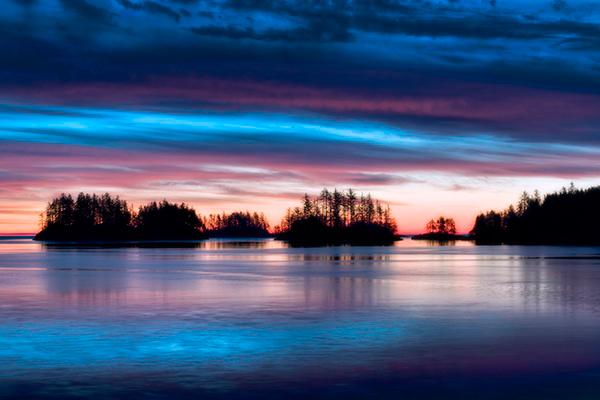 Dawn on Haida Gwaii
