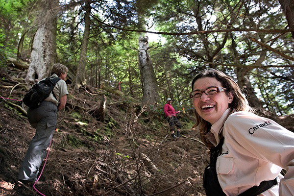 Laurie Wein of Parks Canada