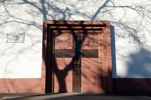 Chiesa door