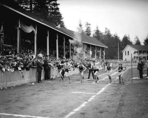 Brockton Point track meet, 1930