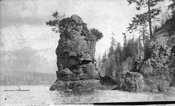 582px version of Siwash Rock at Stanley Park