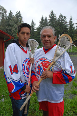 Through Lacrosse, Empowerment for First Nations