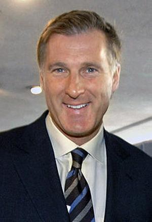 Former industry minister Maxime Bernier