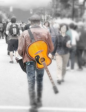 Guitar Man On Vancouvers Commercial Drive In June Photo By MikePearsonpics From Your BC The Tyees Pool