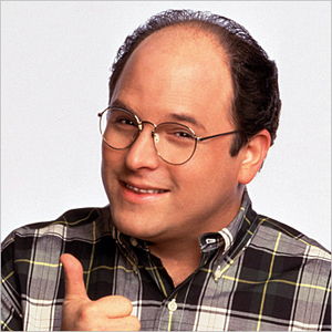 George Costanza from 'Seinfeld'