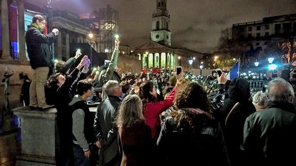 Vigil for Paris terrorist attacks