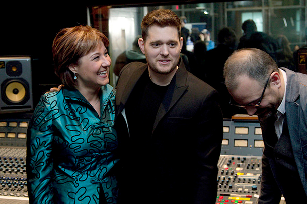 Christy Clark and Michael Bublé