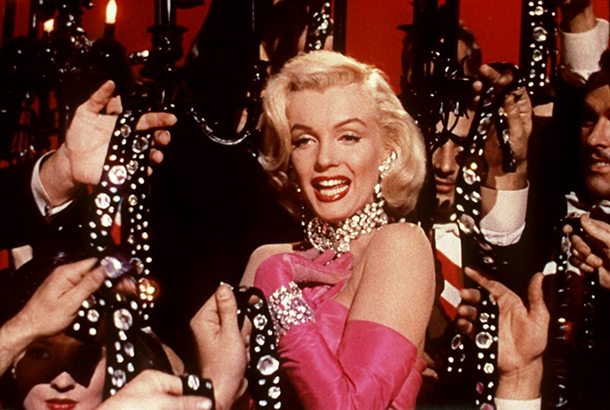 Marilyn Monroe in 'Gentlemen Prefer Blondes'