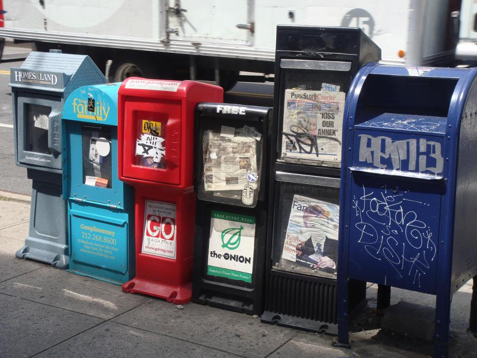 960px version of Newspaper boxes