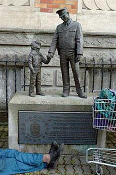 Welfare Statue