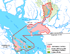 Map of Tssawwassen treaty