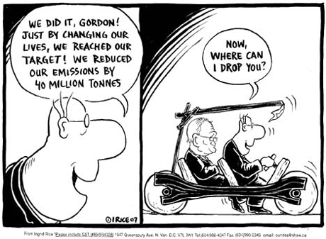Cartoon - Reducing Emissions