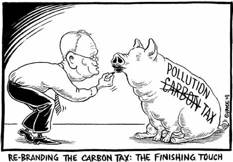 Carbon Tax cartoon