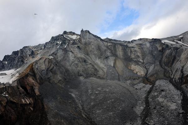 Destroyed peak of Mt. Meager