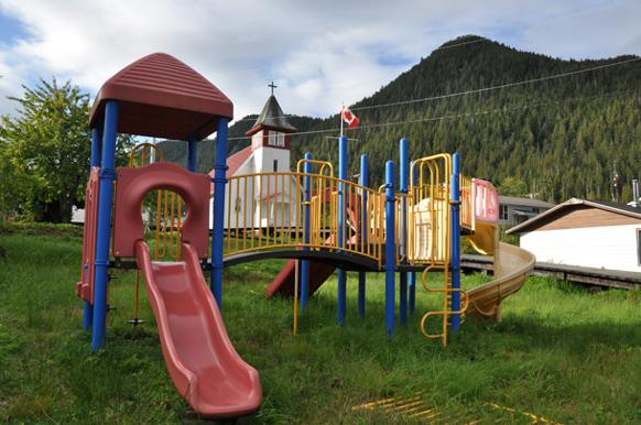 582px version of Hartley Bay playground