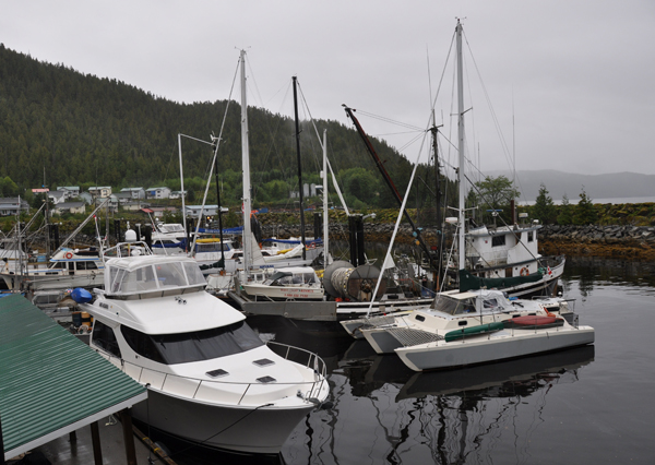 Hartley Bay harbour