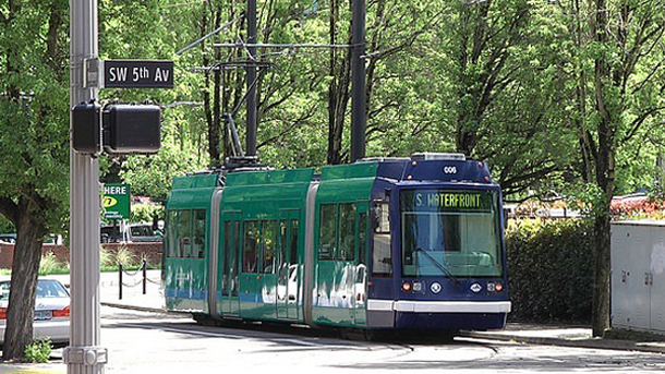 Streetcar in Portland