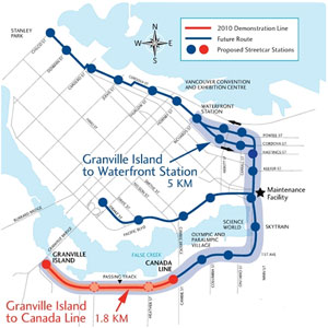 Map Of Canada Line Vancouver.Get Rolling On Streetcars Say Gathered Experts The Tyee