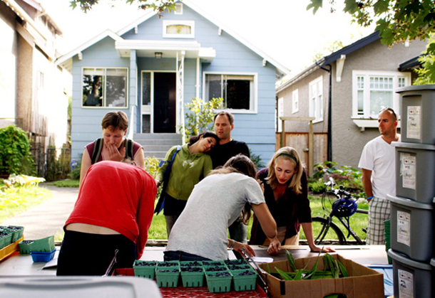 Vancouver food co-op members