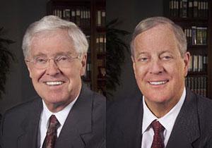 David and Charles Koch, brothers