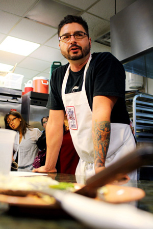 Chef Scott Macneil of The Stop