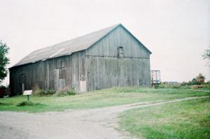 McVean barn in Brampton, Ontario