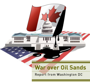 Oil Sands War graphic, Dembicki series