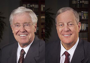Koch Industries owners, the Koch brothers