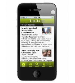 Tyee Mobile Screenshot