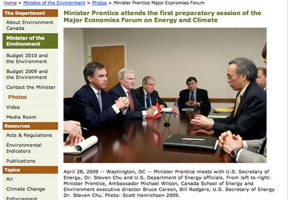 582px version of Bruce Carson with Jim Prentice