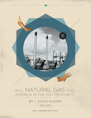 Shale gas report by J. David Hughes