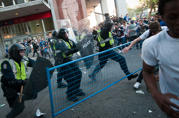 Stanley Cup Riot 2011
