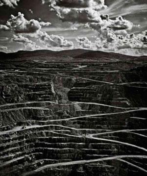 Asbestos mine in Canada